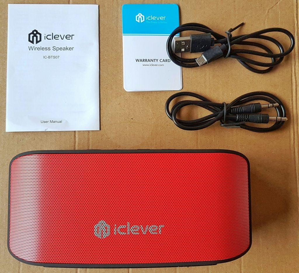 iClever BTS07 Speaker - Contents