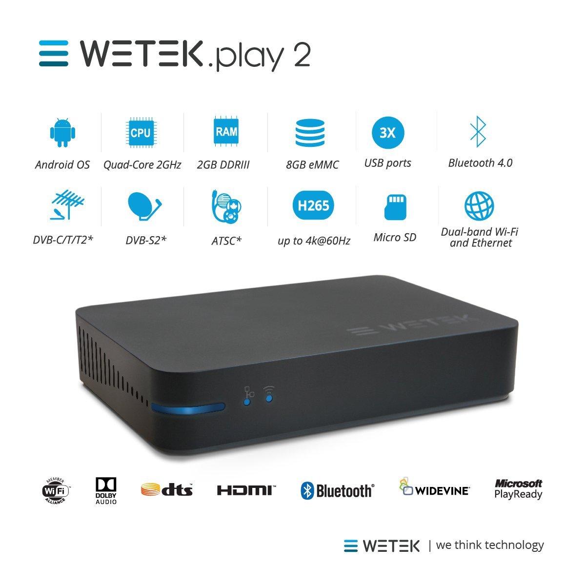 wetek core%2C hub%2C play2s  WeTek Play2 Review - DroidHorizon