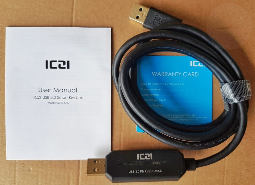 ICZI Smart Link Cable - Contents