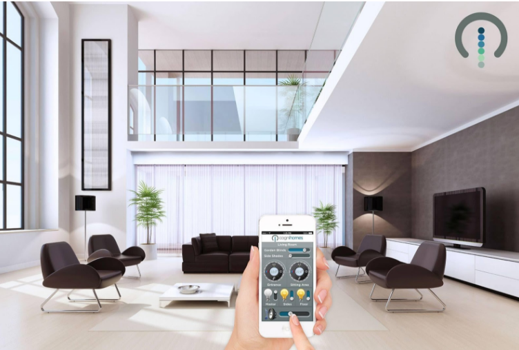 Futuristic Style Home Automation with Linear Actuators 2