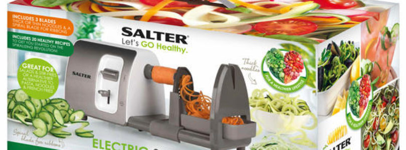 Salter Electric Spiralizer Review