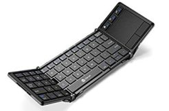 Review: iClever's tri-folding bluetooth keyboard, with touchpad