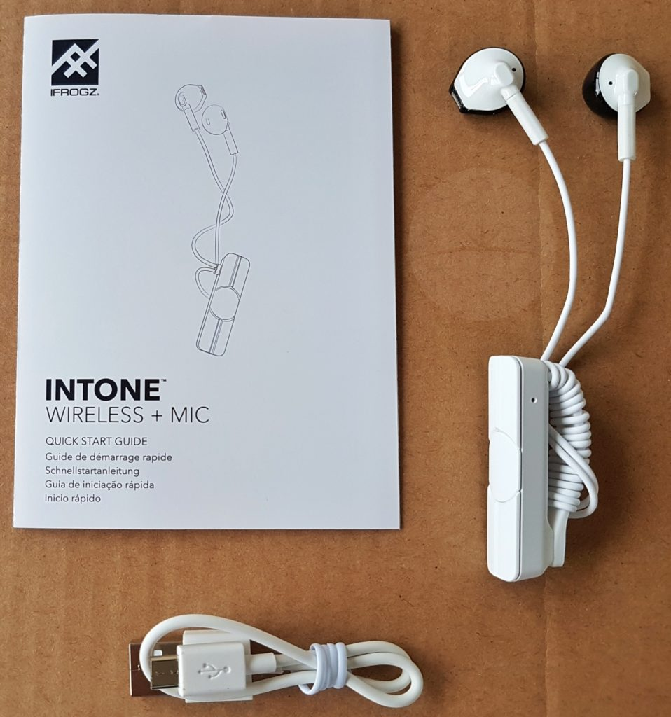 iFrogz InTone Wireless - Contents