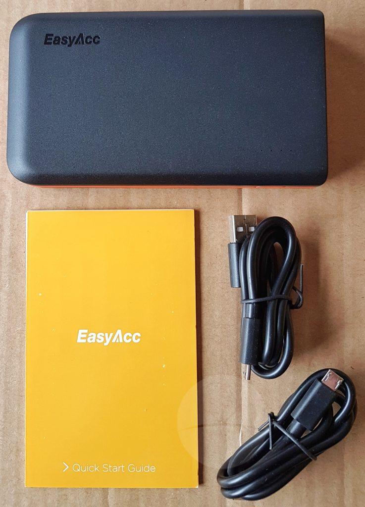 EasyAcc 13000mAh - Contents