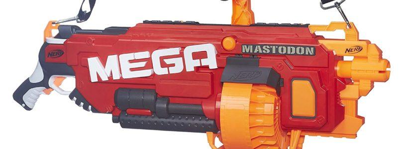 NERF N-Strike Mega and Elite Blaster Review