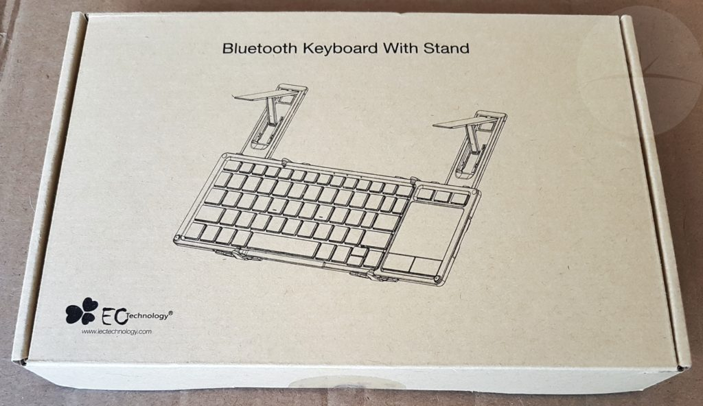 EC Keyboard Trackpad - Box