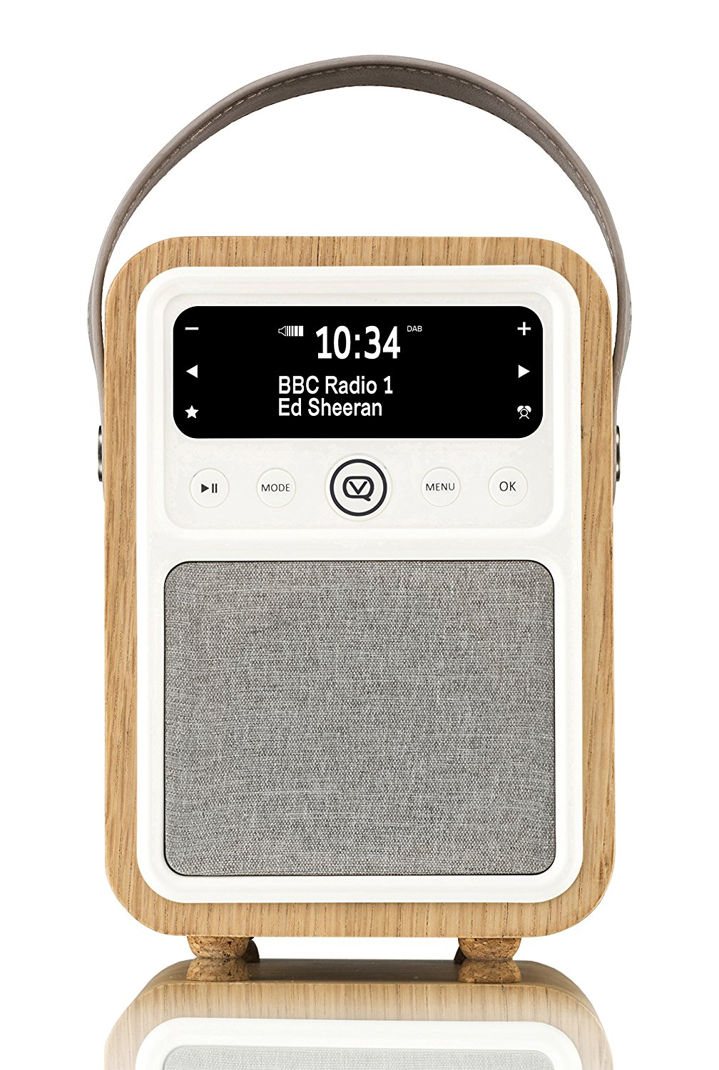 vq monty portable dab fm bluetooth clock retro radio review. Black Bedroom Furniture Sets. Home Design Ideas