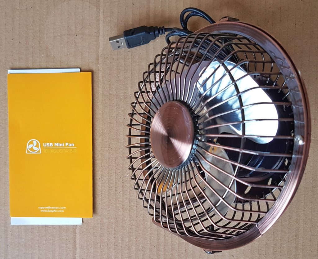 EasyAcc Fan - Contents