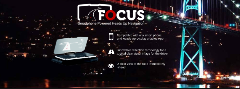 featured image Focus HUD is bringing augmented reality to the road with its new navigation display