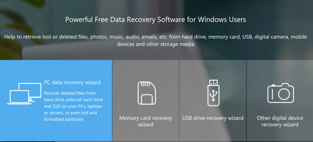 main image EaseUS Data Recovery Wizard has arrived to rescue the deleted or lost files