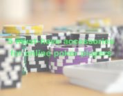 f 5 must-have accessories for online poker players
