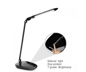 black friday BESTEK Architect Swing Arm Desk Lamp with 7 Brightness Levels