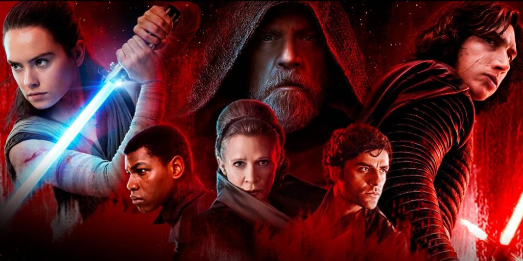 movie poster star wars the last jedi