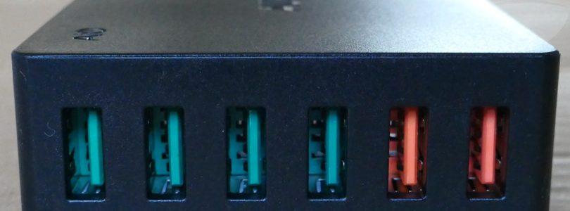 Aukey PA-T11 - Ports
