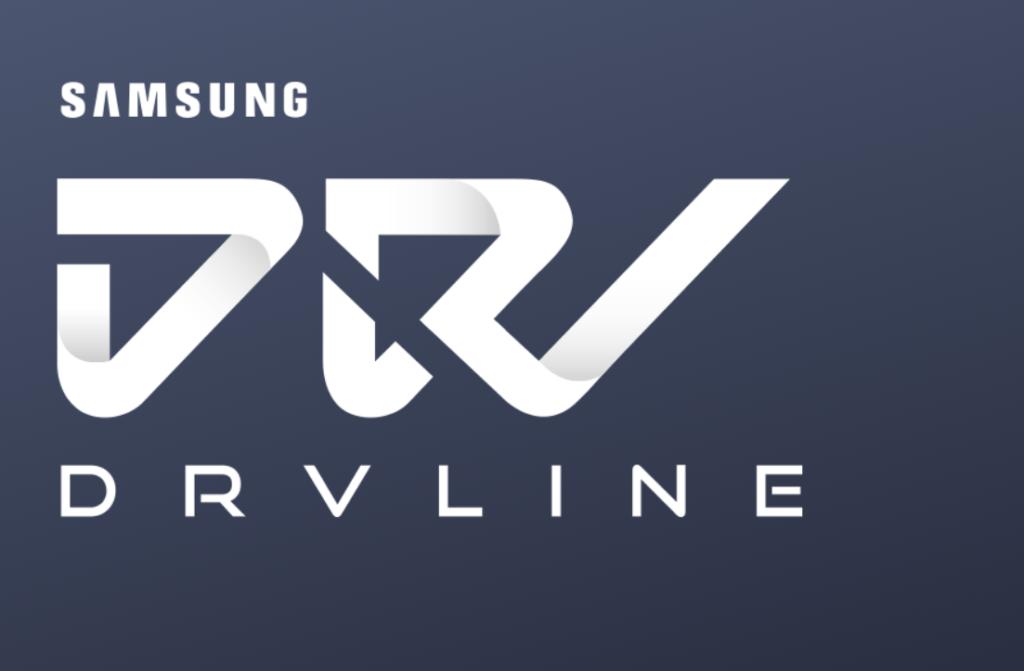 font text samsung DRVLINE