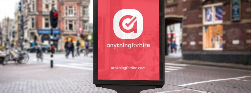 advert New Tech Firm 'Anything for Hire' Launches in the UK Hire Market