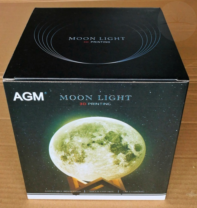 AGM Moon Lamp - Box