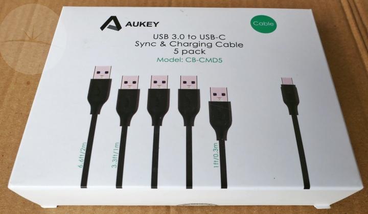 Aukey USB-C Cables - Box