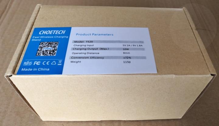 Choetech T520 - Box