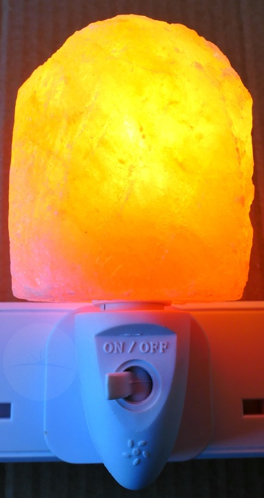 LEDemain Salt Lamps - On Off Switch