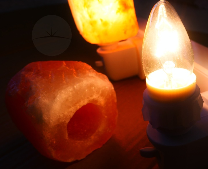 LEDemain Salt Lamps - Uncovered