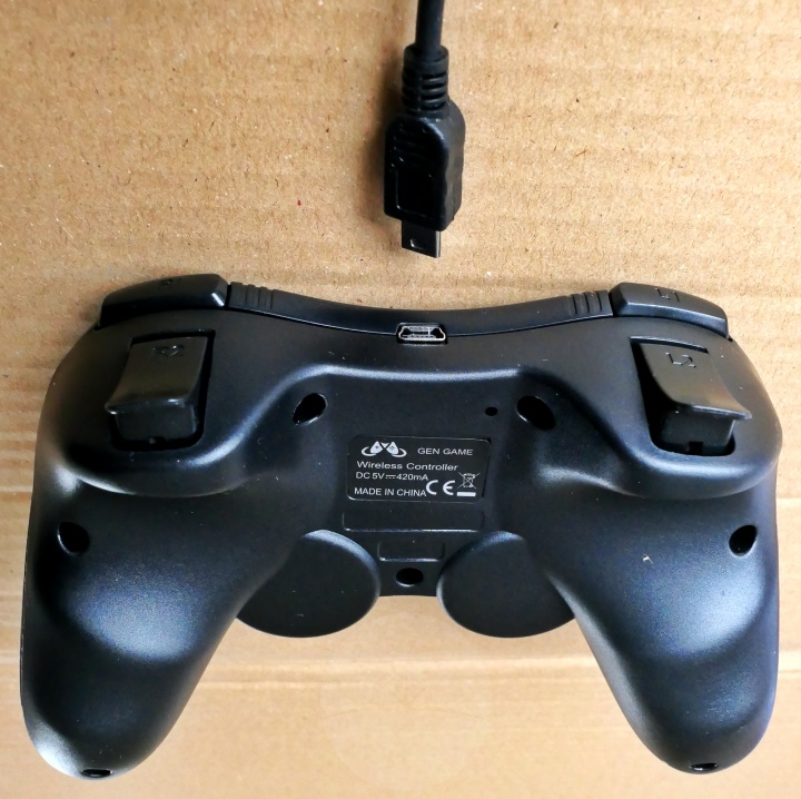 MallTEK Game Controller - Back