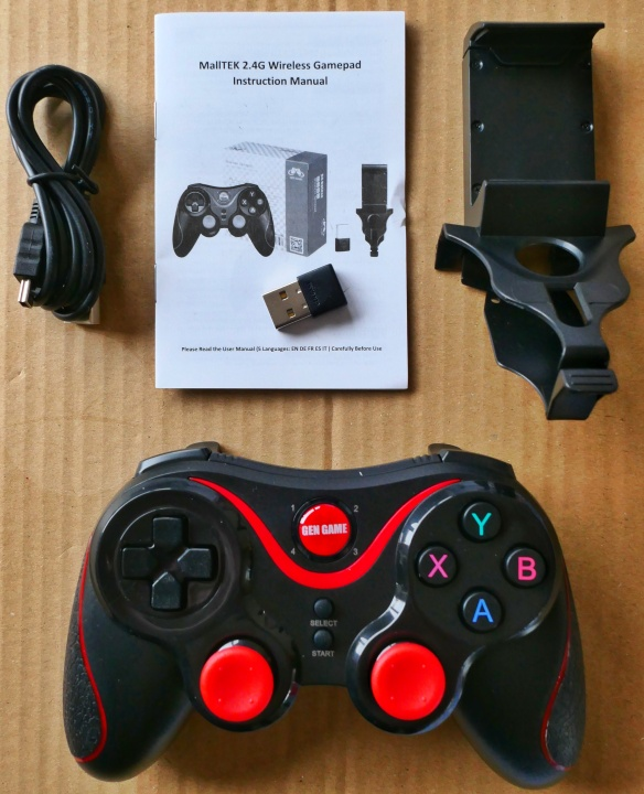 MallTEK Game Controller - Contents
