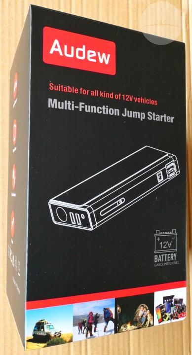 Audew Jump Starter - Box