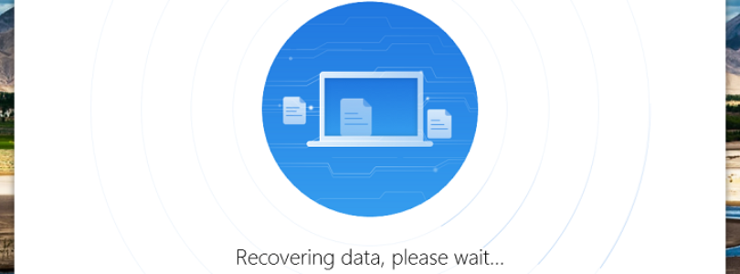 PhoneRescue - Backing Up