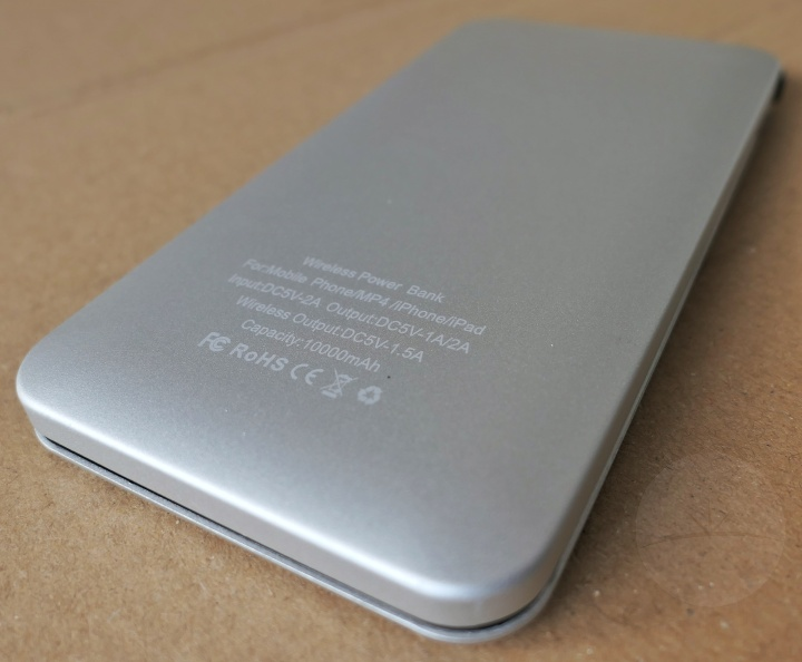 Wofolo Wireless Power Bank - Back