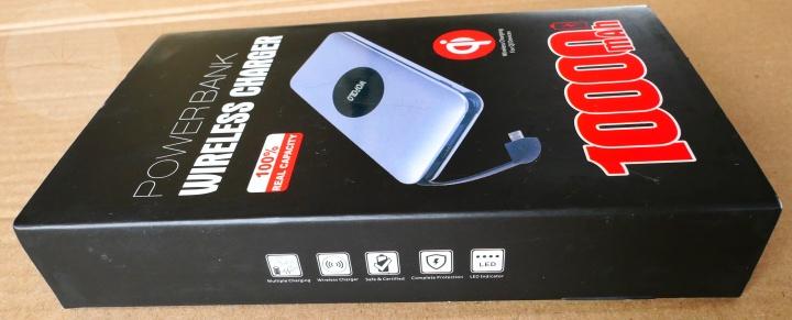 Wofolo Wireless Power Bank - Box