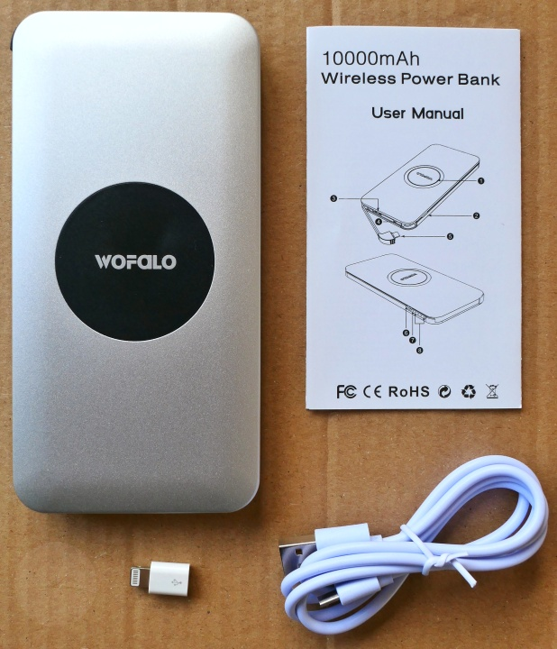 Wofolo Wireless Power Bank - Contents