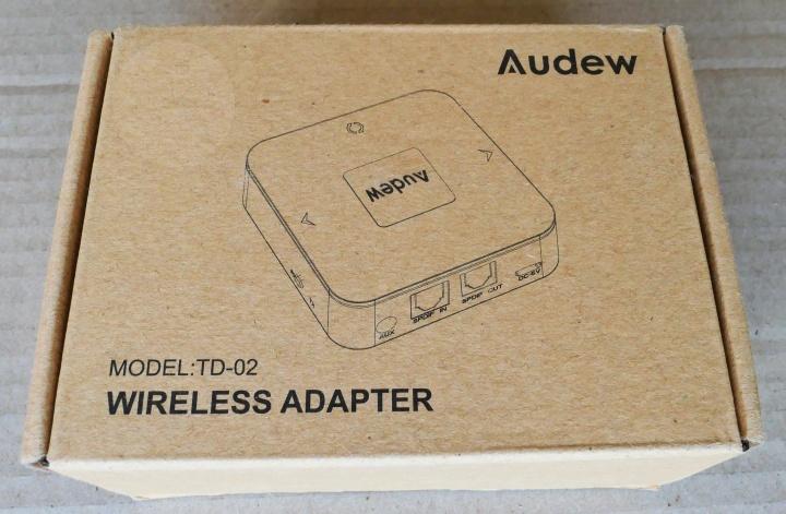 Audew TD-02 - Box