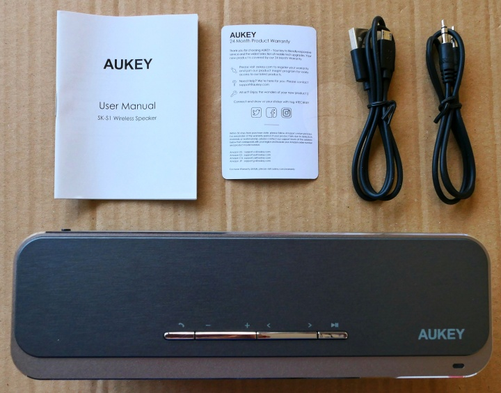 Aukey SK-S1 Speaker - Contents