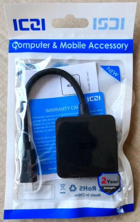 ICZI USB-C Hub - Packaging