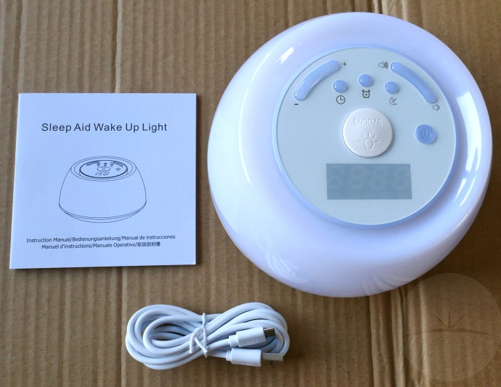 Review: Vadiv WL02 Sleep Aid Alarm Clock Light