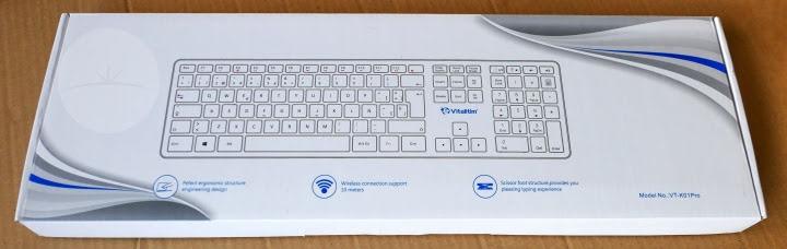 Vitalitim VT-K01Pro Keyboard - Box