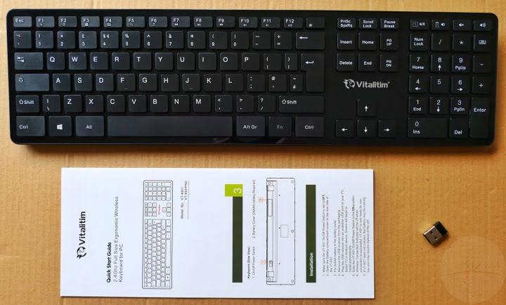 Vitalitim VT-K01Pro Keyboard - Contents