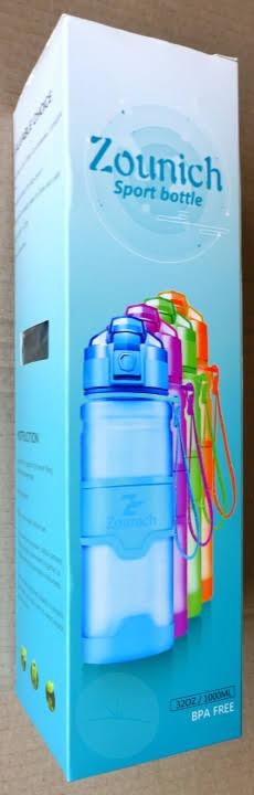 Zounich Water Bottle - Box