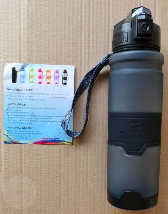 Zounich Water Bottle - Contents