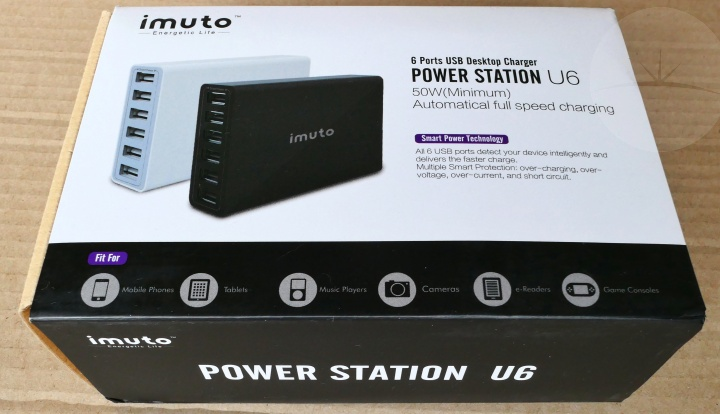 iMuto Power Station U6 - Box