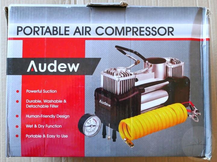 Audew Air Compressor - Box