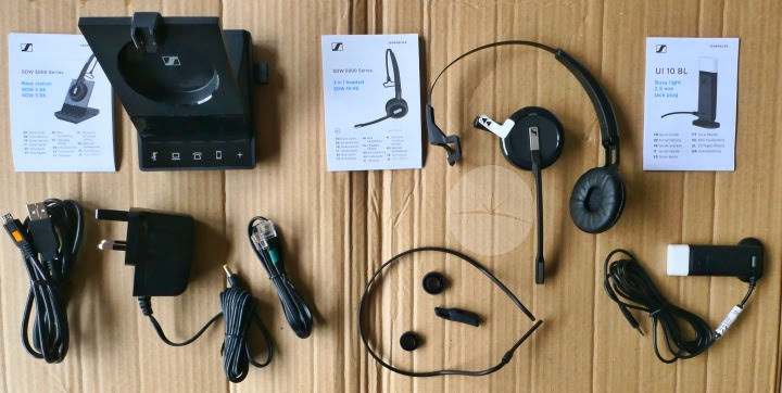 Sennheiser SDW5016 Headset - Contents