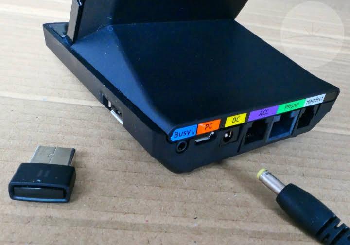 Sennheiser SDW5016 Headset - Ports