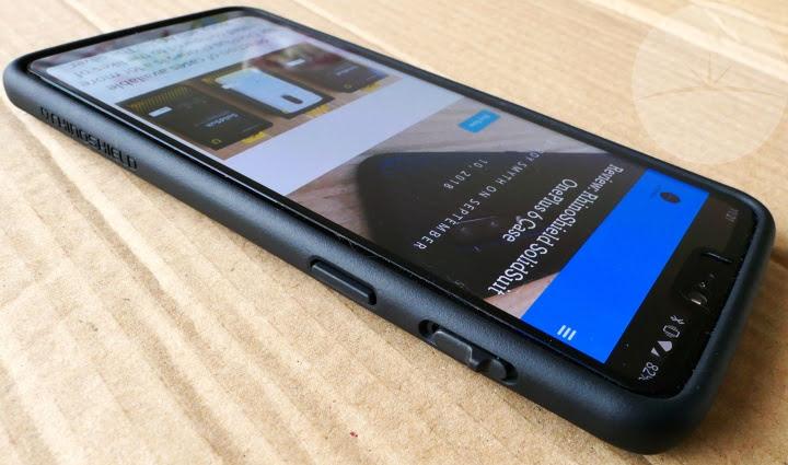 half off 562c5 c0507 Review: RhinoShield CrashGuard OnePlus 6 Bumper Case - DroidHorizon