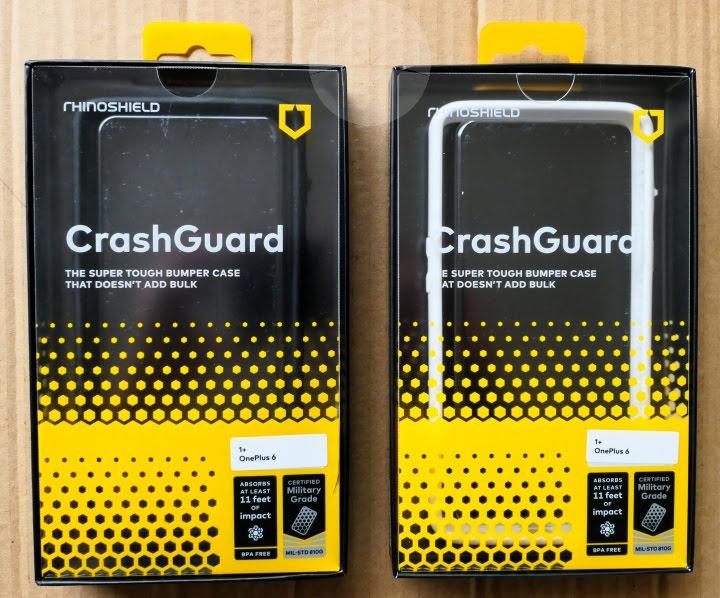Review: RhinoShield CrashGuard OnePlus 6 Bumper Case - DroidHorizon