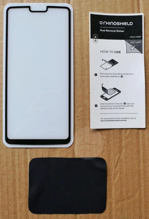 RhinoShield OnePlus 6 Screen Protectors - Tempered Glass