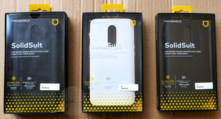 Rhinoshield SolidSuit OnePlus 6 - Boxes
