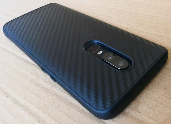new style fba7d 25a8c Review: RhinoShield SolidSuit OnePlus 6 Case - DroidHorizon