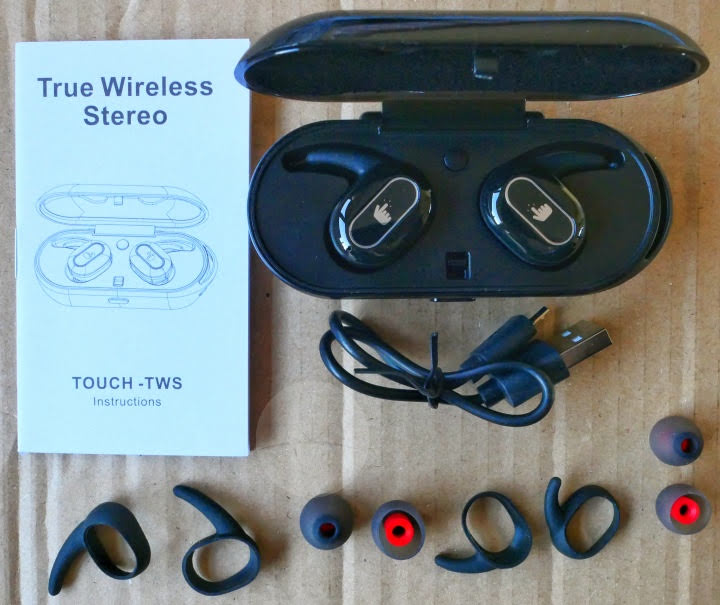 Mbuynow Touch-TWS Wireless Earphones - Contents